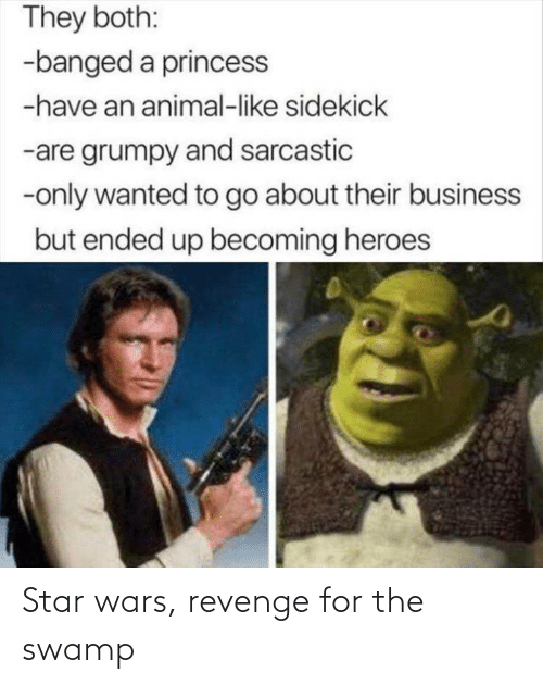 Revenge: Star wars, revenge for the swamp