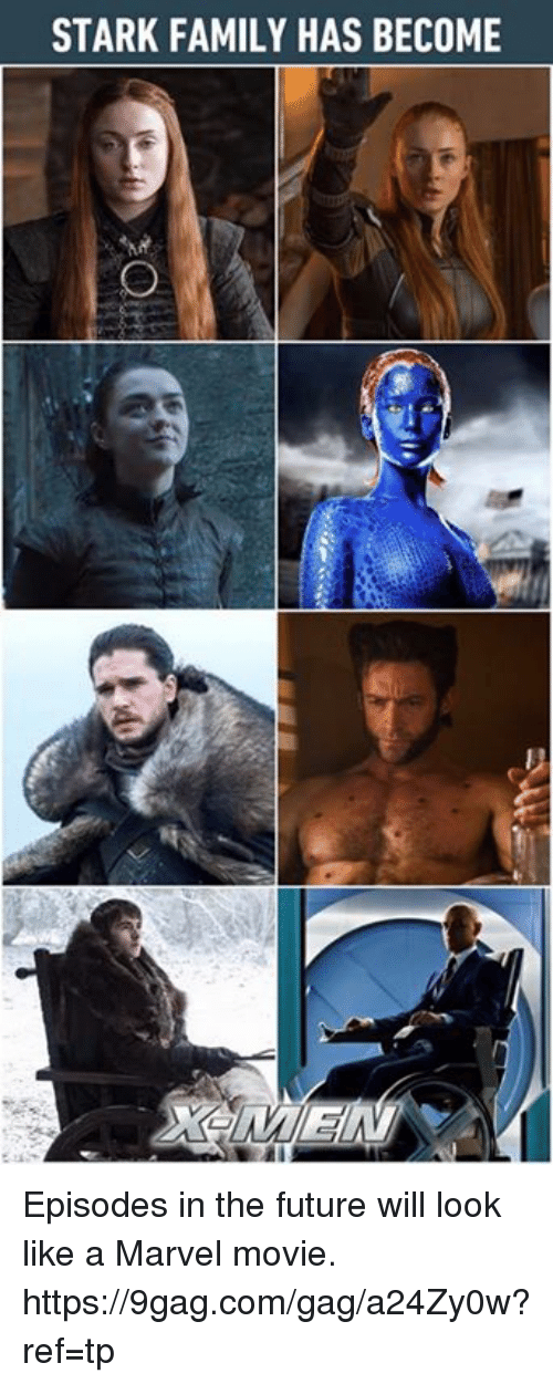 9gag, Dank, and Family: STARK FAMILY HAS BECOME Episodes in the future will look like a Marvel movie. https://9gag.com/gag/a24Zy0w?ref=tp