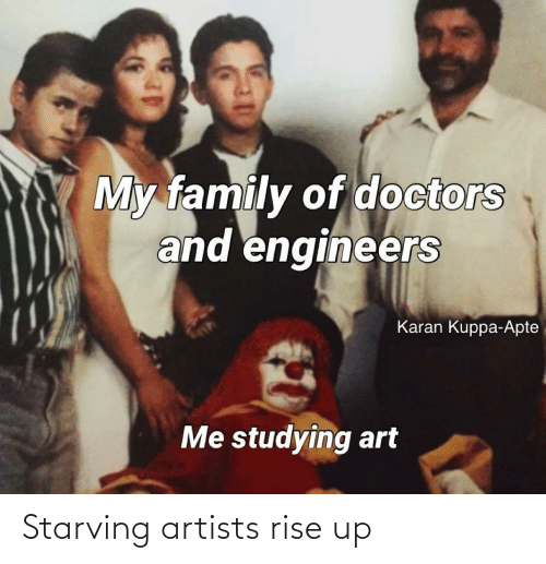 rise up: Starving artists rise up