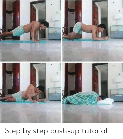 tutorial: Step by step push-up tutorial