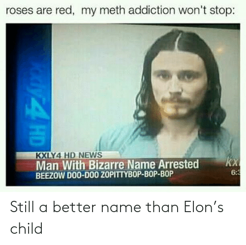 name: Still a better name than Elon's child