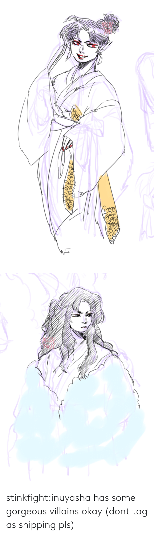 Target, Tumblr, and Blog: stinkfight:inuyasha has some gorgeous villains okay (dont tag as shipping pls)