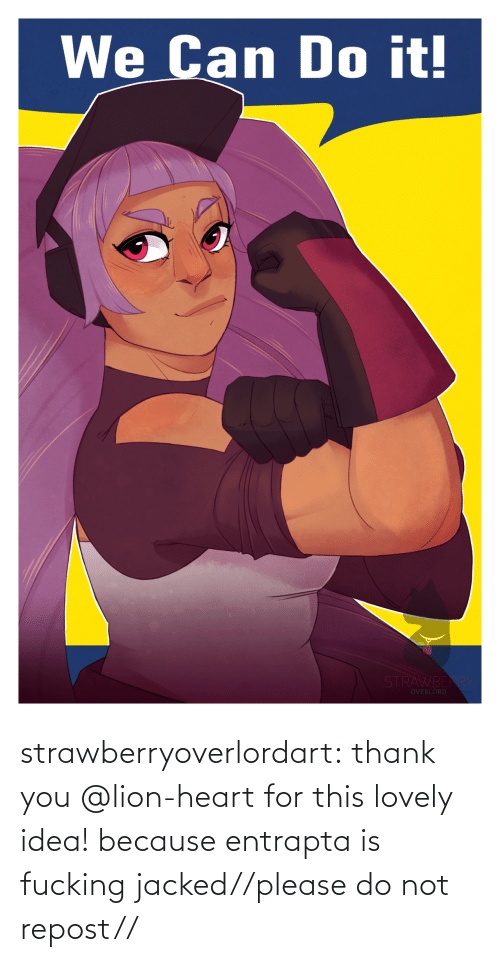 Lion: strawberryoverlordart:  thank you @lion-heart for this lovely idea! because entrapta is fucking jacked//please do not repost//