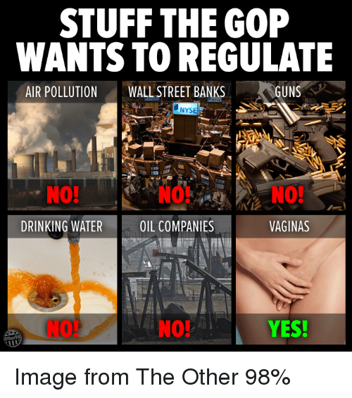stuff the gop wants to regulate air pollution wall street 11632719 🦅 25 best memes about drinking water drinking water memes