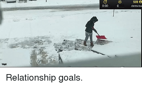 Funny, Goals, and Relationship Goals: SUB  demview  0:00  YRgll Relationship goals.