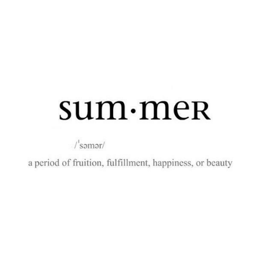 Period, Happiness, and Sum: sum.meR  Psomar/  a period of fruition, fulfillment, happiness, or beauty