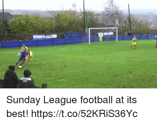 Football, Soccer, and Best: Sunday League football at its best!  https://t.co/52KRiS36Yc