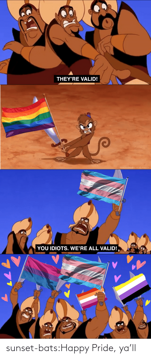 Happy: sunset-bats:Happy Pride, ya'll