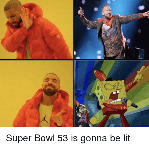 Lit, SpongeBob, and Super Bowl
