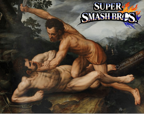 Smashing, Classical Art, and Super: SUPER  SMASH BRS