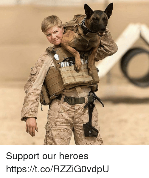 Memes, Heroes, and 🤖: Support our heroes https://t.co/RZZiG0vdpU