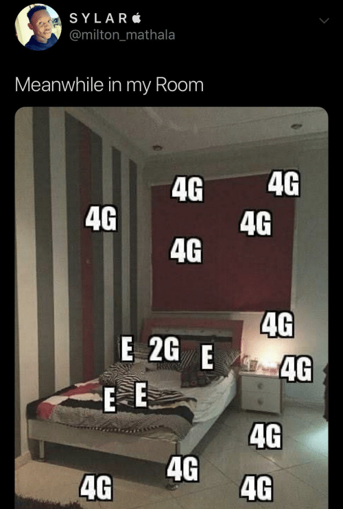Milton, Meanwhile In, and Room: SYLAR  @milton_mathala  Meanwhile in my Room  4G  4G  4G  4G  4G  4G  E 2G E  4G  E E  4G  4G  4G  4G