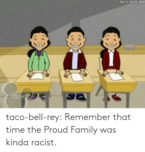 The Proud Family: taco-bell-rey  Diany taco-bell-rey:  Remember that time the Proud Family was kinda racist.