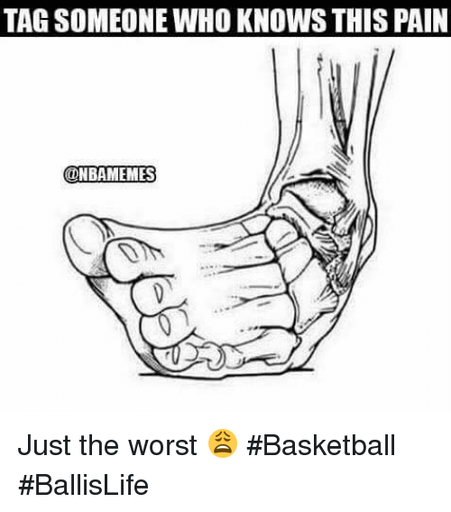 Basketball, Nba, and The Worst: TAG SOMEONE WHO KNOWS THIS PAIN  @NBAMEMES Just the worst 😩 #Basketball #BallisLife