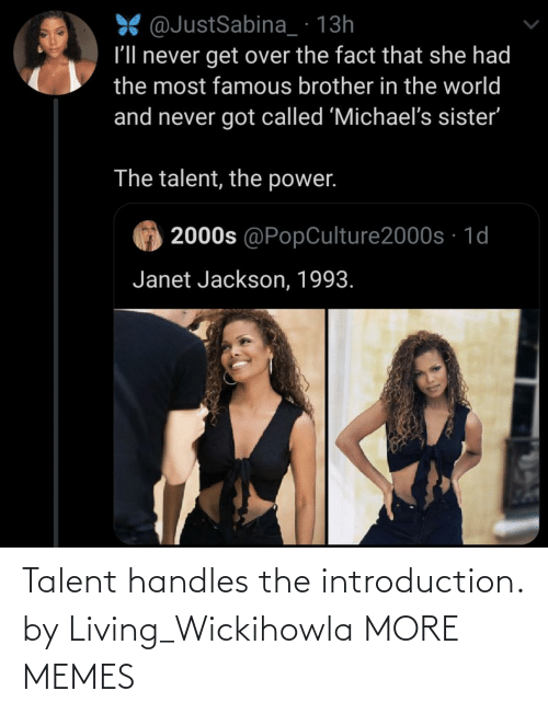 handles: Talent handles the introduction. by Living_Wickihowla MORE MEMES