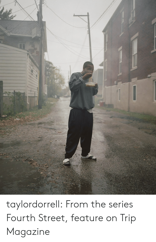 Tumblr, Blog, and Http: taylordorrell:  From the series Fourth Street, feature on Trip Magazine