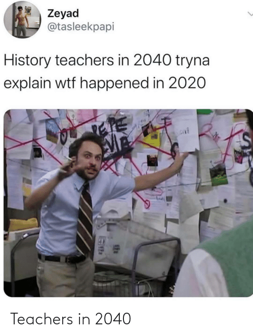 teachers: Teachers in 2040