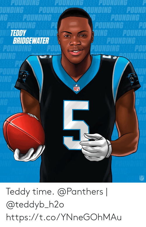 Panthers: Teddy time.  @Panthers   @teddyb_h2o https://t.co/YNneGOhMAu