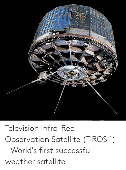 Television: Television Infra-Red Observation Satellite (TIROS 1) - World's first successful weather satellite