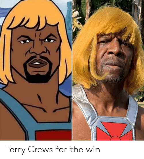 Terry Crews: Terry Crews for the win