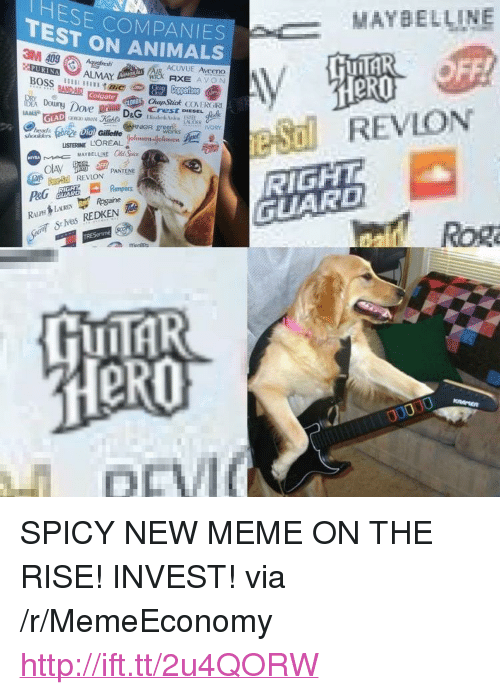 "Animals, Dove, and Listerine: TESE COMPANIES  TEST ON ANIMALS  MAYBELLINE  ACUVUE Aveeno  eR0  BAND-AIR  ChapStick COVERGRI  Doing Dove prang DaG Creston.sag k  LISTERINE L'OREALasonelme  RIGHT  GUARD  REVLON PANTENE  Sies REDKEN  Rog  LII <p>SPICY NEW MEME ON THE RISE! INVEST! via /r/MemeEconomy <a href=""http://ift.tt/2u4QORW"">http://ift.tt/2u4QORW</a></p>"