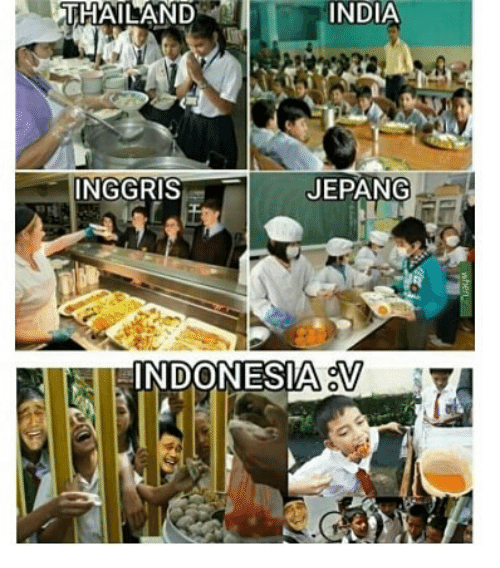 India, Thailand, and Indonesian (Language): THAILAND  INDIA  INGGRIS  JEPANG  INDONESIAS