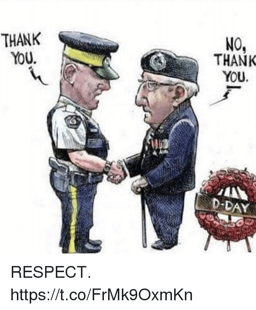 Memes, Respect, and Thank You: THANK  YoU  NO,  THANK  YOU.  DAY RESPECT. https://t.co/FrMk9OxmKn