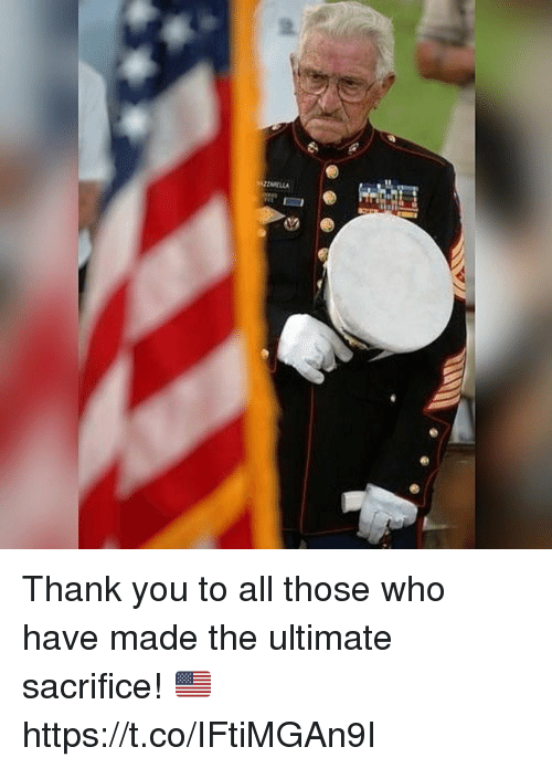 Memes, Thank You, and 🤖: Thank you to all those who have made the ultimate sacrifice! 🇺🇸 https://t.co/IFtiMGAn9I