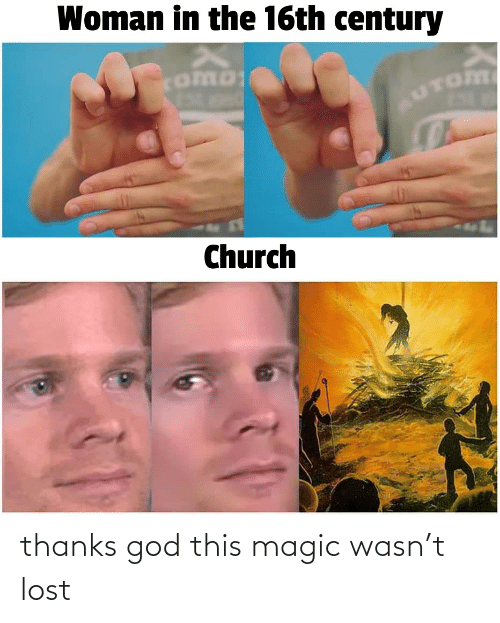 Lost: thanks god this magic wasn't lost