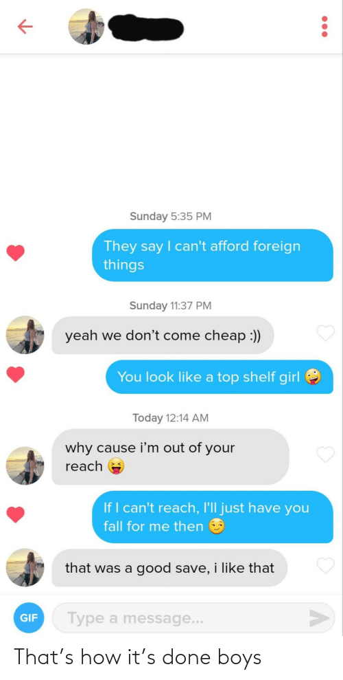 How It: That's how it's done boys