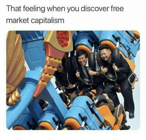 Memes, Capitalism, and Discover: That feeling when you discover free  market capitalism