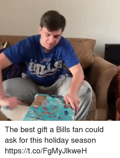 Football, Nfl, and Sports: The best gift a Bills fan could ask for this holiday season https://t.co/FgMyJlkweH