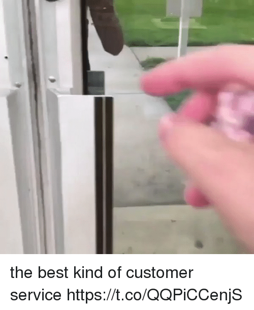 Best, Girl Memes, and Service: the best kind of customer service  https://t.co/QQPiCCenjS