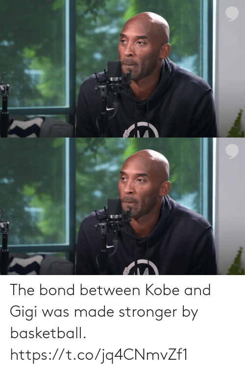 bond: The bond between Kobe and Gigi was made stronger by basketball. https://t.co/jq4CNmvZf1