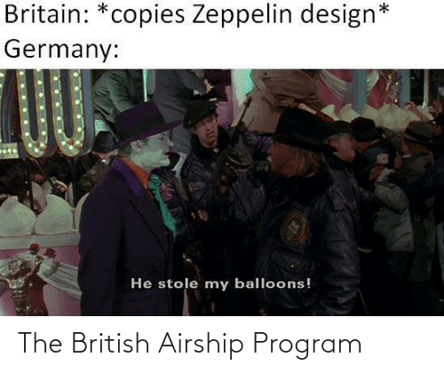 British: The British Airship Program