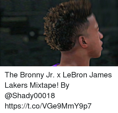 Los Angeles Lakers, LeBron James, and Memes: The Bronny Jr. x LeBron James Lakers Mixtape!  By @Shady00018    https://t.co/VGe9MmY9p7