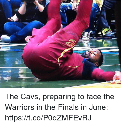 Cavs, Finals, and Sports: The Cavs, preparing to face the Warriors in the Finals in June: https://t.co/P0qZMFEvRJ