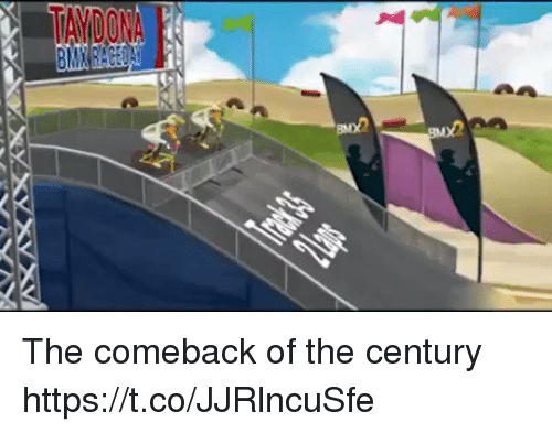 Century, Comeback, and The-Comeback: The comeback of the century https://t.co/JJRlncuSfe