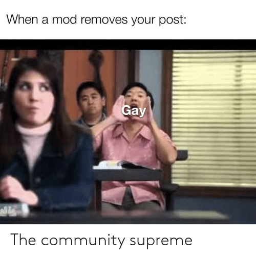 Supreme: The community supreme