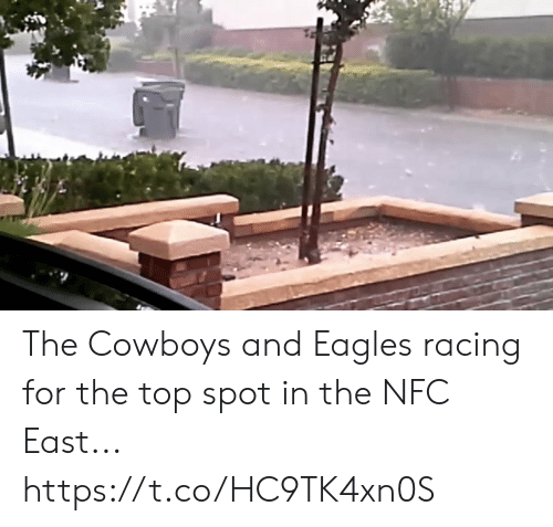 Dallas Cowboys, Philadelphia Eagles, and Football: The Cowboys and Eagles racing for the top spot in the NFC East... https://t.co/HC9TK4xn0S