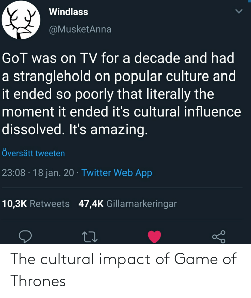 Impact Of: The cultural impact of Game of Thrones