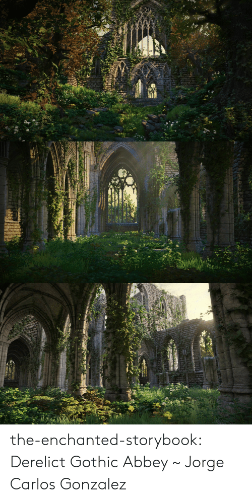 Target, Tumblr, and Blog: the-enchanted-storybook:  Derelict Gothic Abbey ~ Jorge Carlos Gonzalez