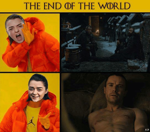 Game of Thrones, World, and The World: THE END DF THE WORLD