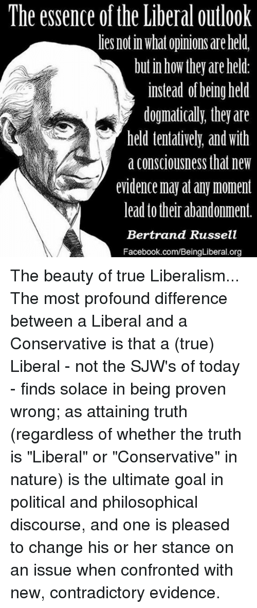 contrast the differences between liberal and conservative ideology in the states Realism and liberalism compare and contrast essay sample  is accordingly an ideology or group of ideologies which value human freedom,  liberal vs conservative.
