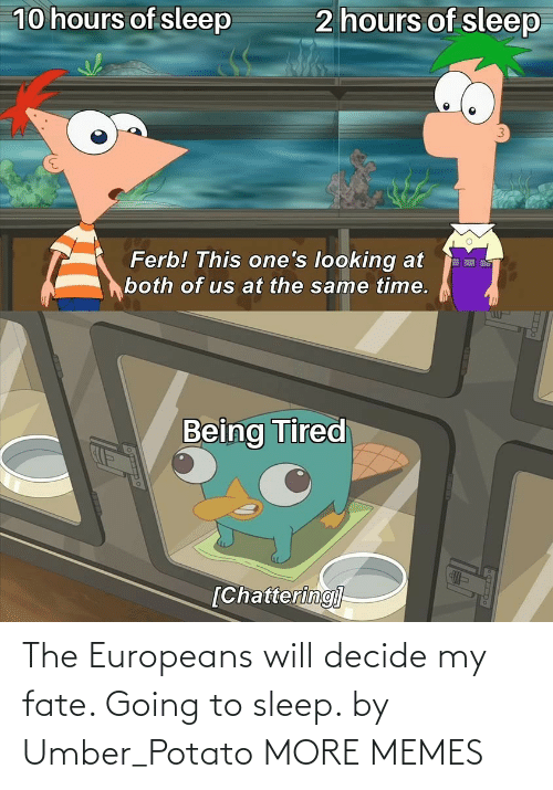 Dank, Memes, and Target: The Europeans will decide my fate. Going to sleep. by Umber_Potato MORE MEMES