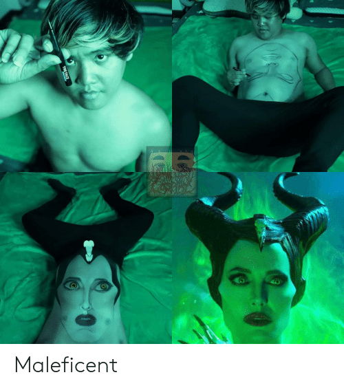 Maleficent, Face, and The Face: THE FACE Maleficent