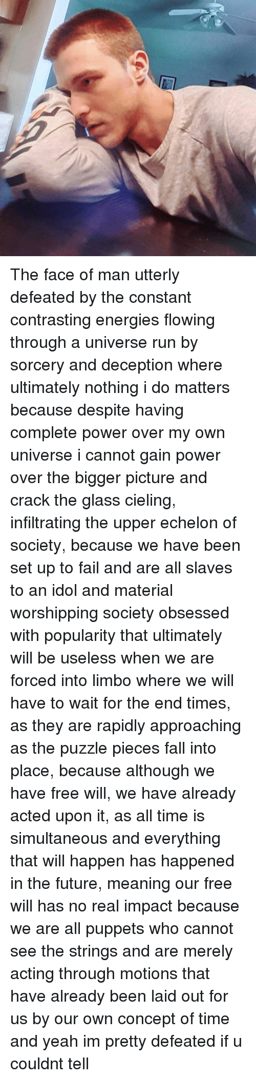 power gained by deception Deception is used to gain power power can change people in a way that is incomprehensible power can make one so greedy that they will do anything for it and won't.