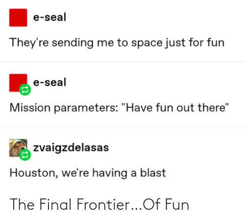 The Final: The Final Frontier…Of Fun