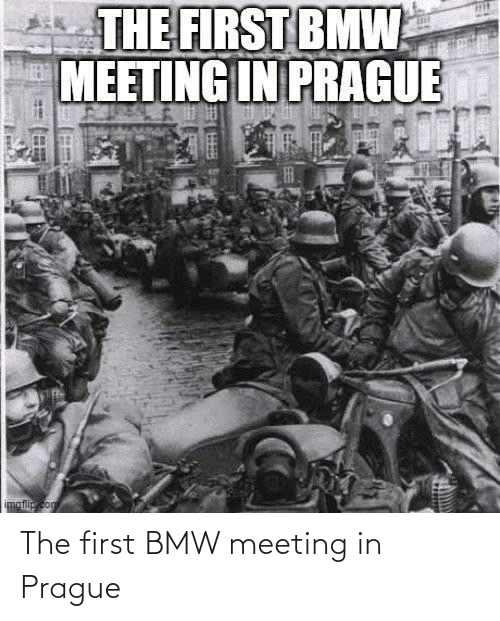 Prague: The first BMW meeting in Prague