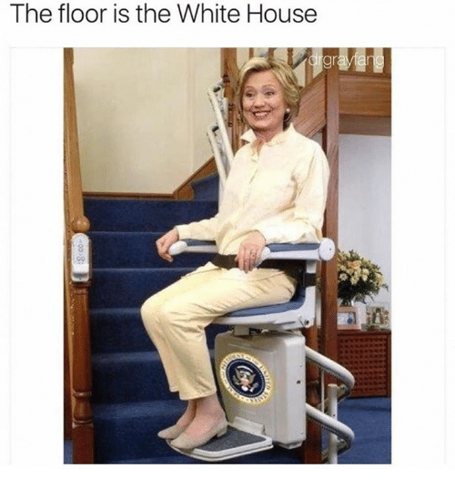 Memes, White House, and House: The floor is the White House